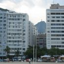The famous Christ the Redeemer statue from Copacabana beach