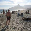 Me on Ipanema beach
