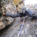 Zajeda v smeri Dulferja(Cima Grande) 250m,5