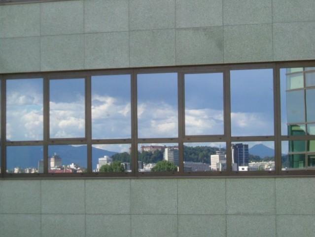 Pogled iz pisarne