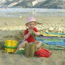 Moje prve počitnice na morju pri 9ih mesecih - Lopar na otoku Rabu