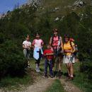 Na pol poti do vrha Viševnika.