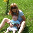 mami in jaz na sončku