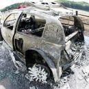 Clio burning