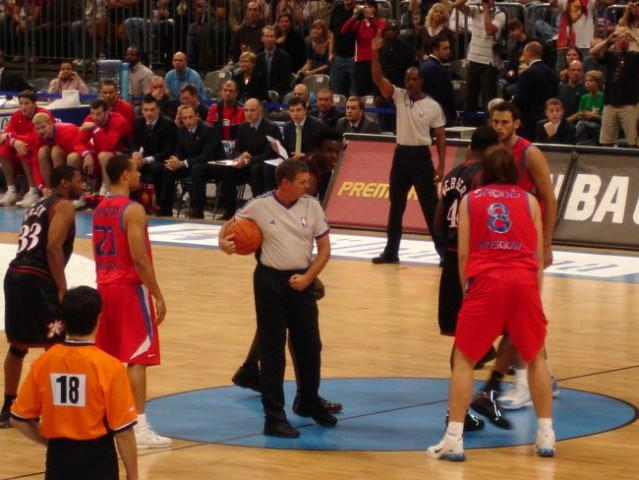 CSKA vs. 76´ers - tipoff