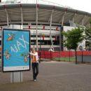 Moja prva nogometna ljubezen - Ajax Amsterdam in v ozadnju Arena