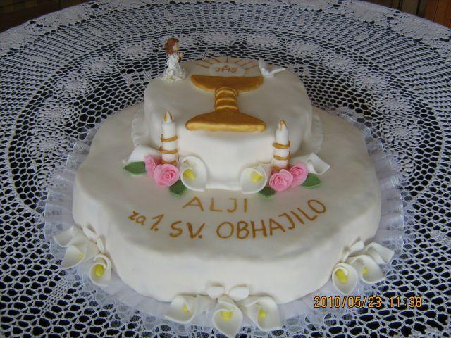 Torta za obhajilo
