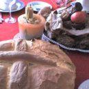 kruh za Božično kosilo