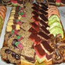 orehi,huzarski krapki,špikov vrh,donavski valovi,skutina pita,šahovnica,jagode,višnjeva in