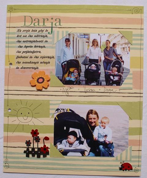 Scrapbook za Darjo - foto