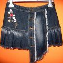 jeans krilo, vel.36, cena: 7€