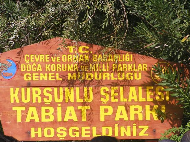 Izlet na manjše slapove Kursunlu