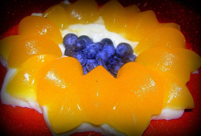 Pana kota s pomarančnim želejem
