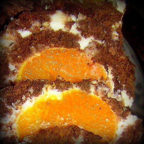 Rolada z mandarinco