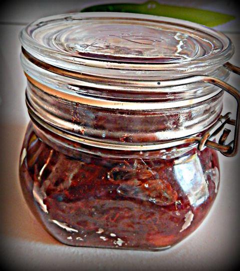 Pečen slivov džem