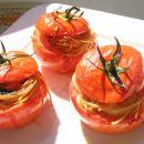 paradižnikova gnezdeca s špageti