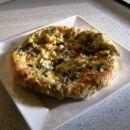 Pita prevrnjenka s cvetačo in jajčevci