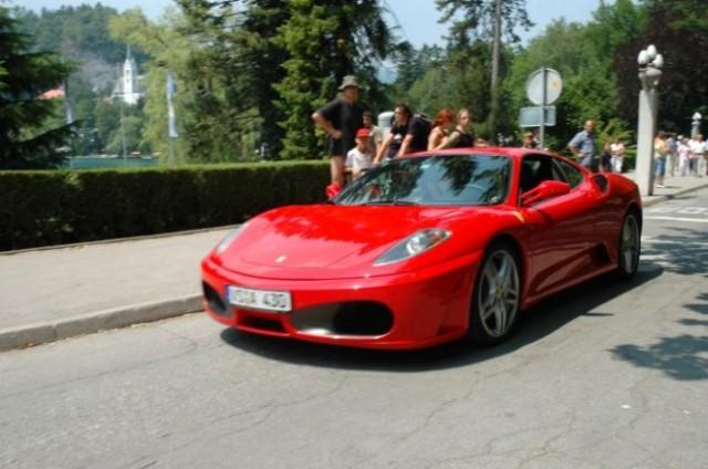 Ferrari srecanje bled - foto