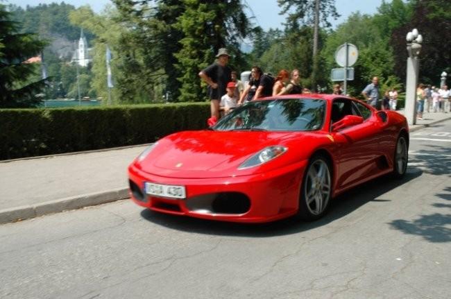 Ferrari srecanje bled - foto povečava