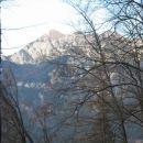 razgled s poti na Jerebikovec proti Karavankam