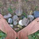 nejceve noge in moji kamni :) kolpa 06