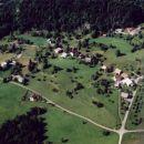 Osrednji del Babne Gore iz zraka; junij 2001