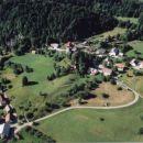 Zgornji del Babne Gore iz zraka; junij 2001