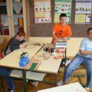 Učenci 5. razreda so se hmalu utrudili..