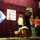 Učenci 8. razreda  v igranju balade Povodni mož
