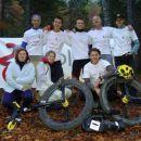 Vsi udeleženi, ki so omogočili ta projekt Od zg.-levo: Grega, Damjan, Primož, Janko, Mitj