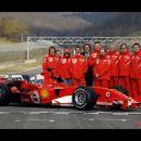 Leto 2004 Lokacija Mugello..predstavitev dirkalnika za leto 2005