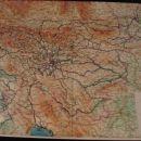Tukaj vidimo zemljevid slovenije in sosednih držav po katerih sem vozil z kolesom . začel