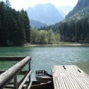 In končno jezero na jezerskem  ,prava paša za oči  :))