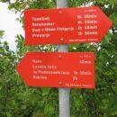Smerokaz poti z vrha Krima