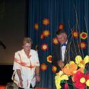 Predsednica Sožitja Kamnik in predstavnik Mavrice