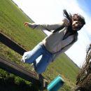 Hihi...Sara skače