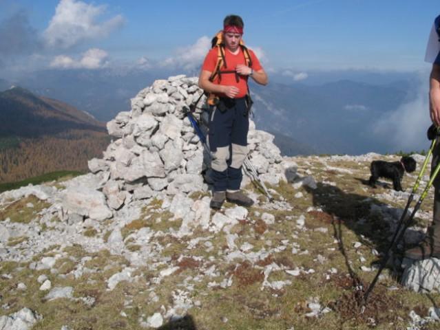 Na vrhu Dleskovca (1965 m)