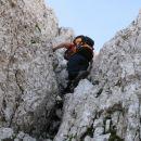 Lepo plezanje v dobri skali