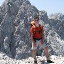 Na vrhu Kranjske, v ozadju Skuta in desno Kočna