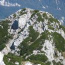 Vzhodni greben proti Utam in Strelovcu