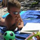 Mislec na plaži