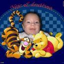 Nejc in medvedek Pu in tiger