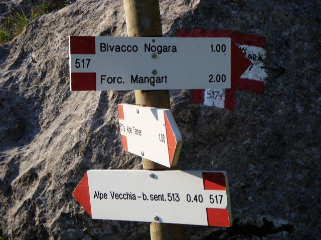 Ferata Via Italiana-Mangart(2679m-9.9.2016 - foto