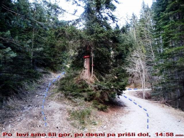 Topla-Knepsovo sedlo-Peca-Mala Peca-7.1.2017 - foto