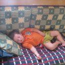 Nejc je utrujen