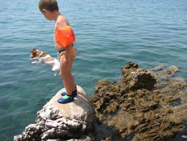 Morje poletje 2006 - foto