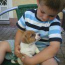 Prvi obisk pri leglu Oscar star 4 tedne