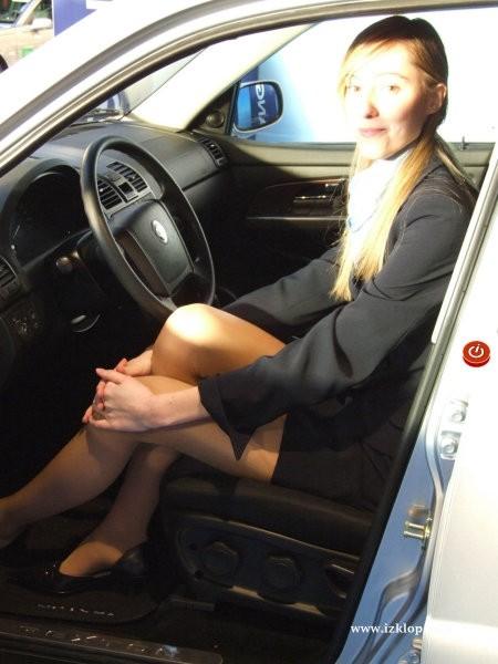 Hostese - avto salon Celje 2006 - foto povečava