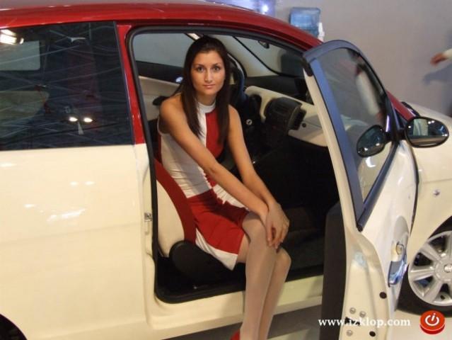Hostese - avto salon Celje 2006 - foto