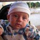 To sem jaz, star 3 mesece. Olib, september 2007.